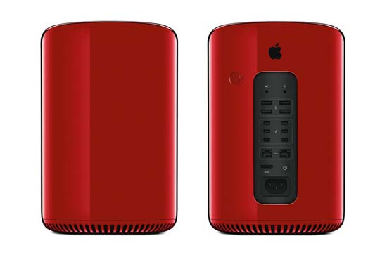 Jony Ive Designs One-of-a-Kind Red Mac Pro for Product (RED) charity