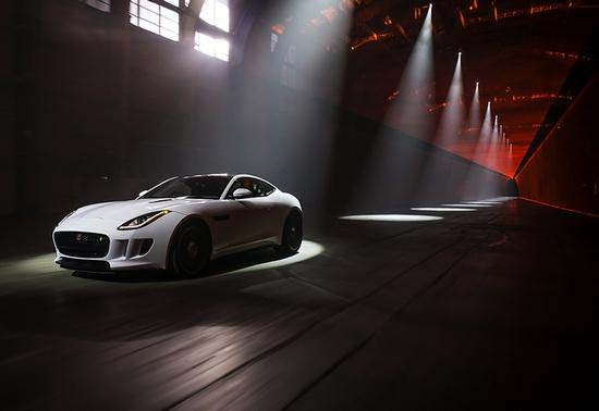 Jaguar F-Type R Coupe Unveiled