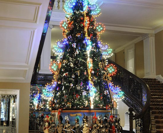 Claridge's 2013 Christmas Tree by Dolce & Gabbana