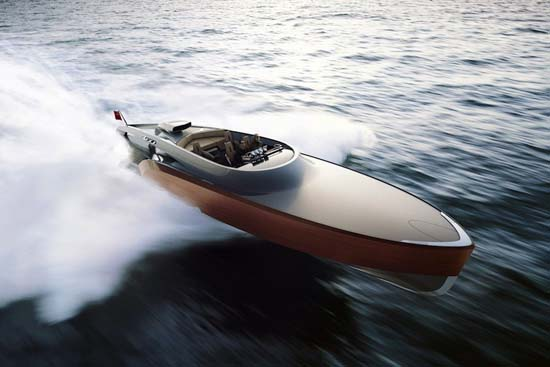 The Aeroboat superyacht by Claydon Reeves