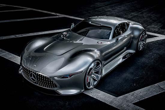 Mercedes AMG Vision Gran Turismo Concept Revealed