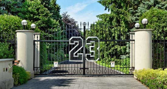 Michael Jordan to Auction Highland Park Estate