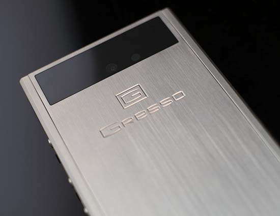 Gresso Launches Radical Luxury Android Smartphone
