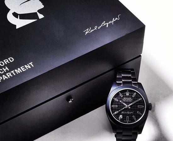 Karl Lagefeld x Bamford Watch Department