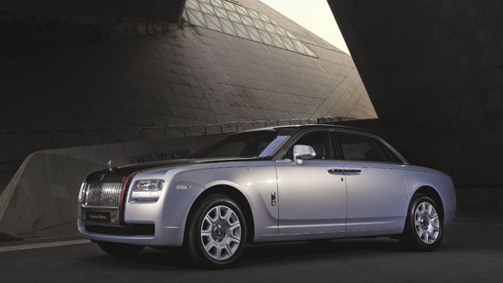 Rolls Royce Ghost Canton Glory for China