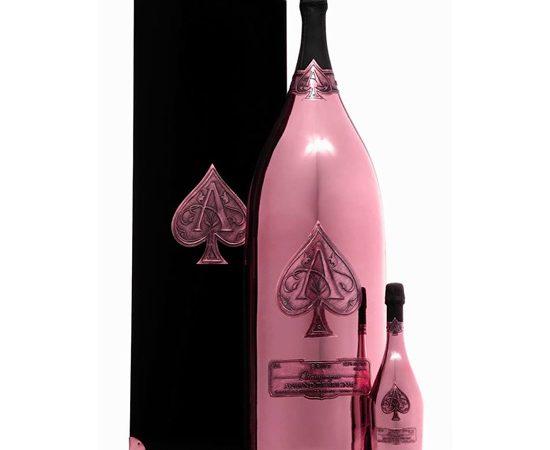 Armand de Brignac Unveils World's Largest Bottle of Rosé Champagne $275,000