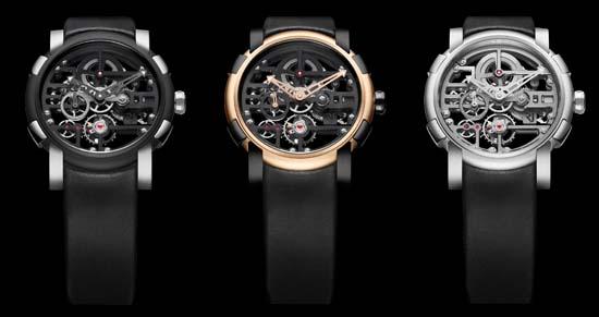 RJ-Romain Jerome Orbital Skylab Skeleton Watch
