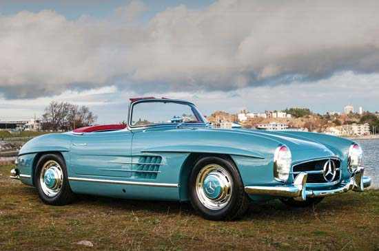 1958 Mercedes-Benz 300SL Roadster is expected to fetch $1.2 million at auction