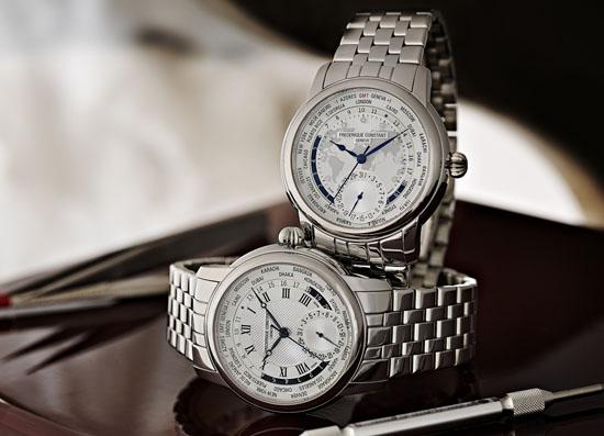 Frederique Constant Classics Manufacture Worldtimer Bracelet