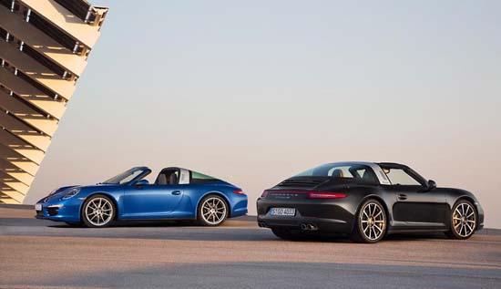 Meet the new Porsche 911 Targa 4 and Targa 4S