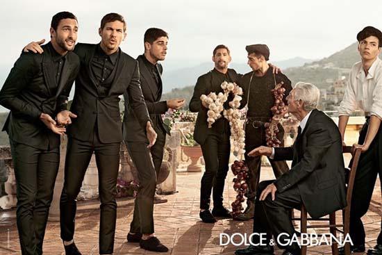 Dolce & Gabbana Spring 2014 Menswear Campaign
