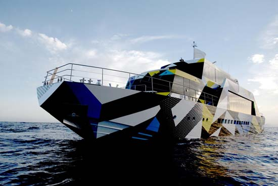 Guilty Yacht Designed by Jeff Koons and Ivana Porfiri