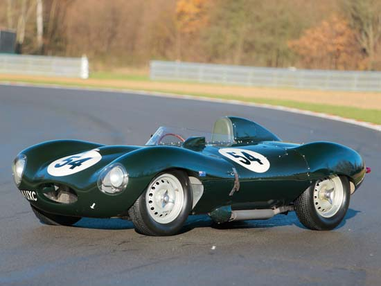 1955 Jaguar D-Type sells for a record $5.1 million