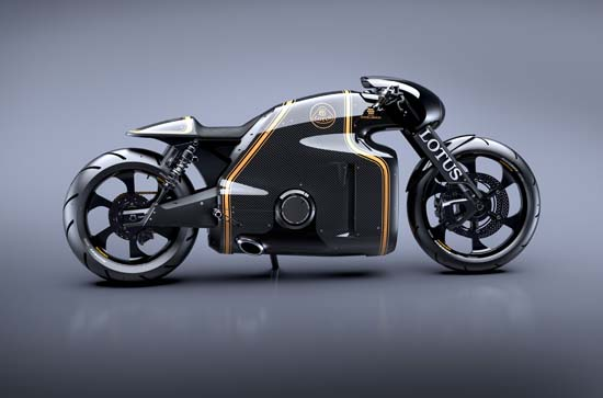 Lotus C-01 Motorcycle Designed by Daniel Simon Unveiled