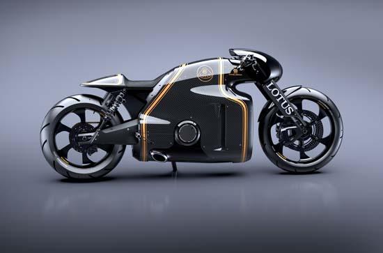 Lotus C-01 Motorcycle Designed by Daniel Simon Unveiled