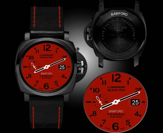 Bamford Watch Department x Panerai Luminor Marina