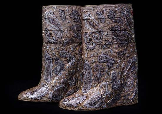World's Most Expensive Diamond Boots $3.19 Million