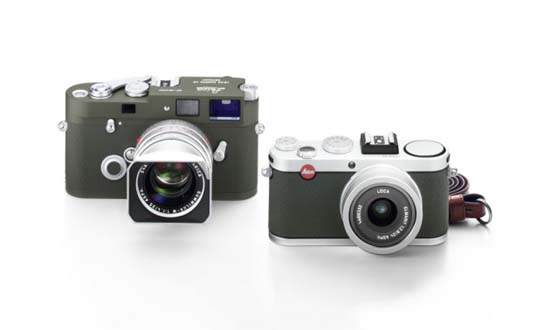 Leica Unveils MP and X2 Olive Limited Edition Cameras