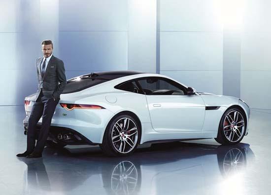 David Beckham Is Jaguar Ambassador