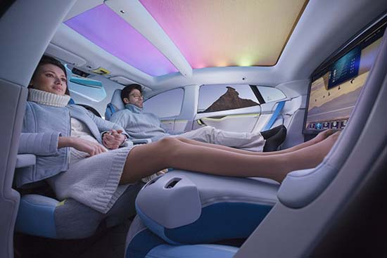 Rinspeed XchangE Concept – The Future of Autonomous Driving