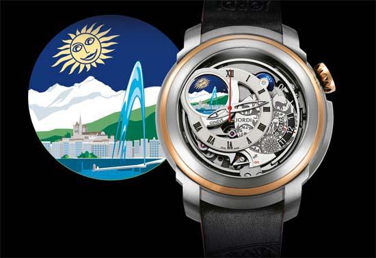 Jordi Swiss Icon unveils the Icons of the World Geneva