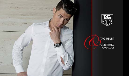 Christiano Ronaldo Named New TAG Heuer Brand Ambassador