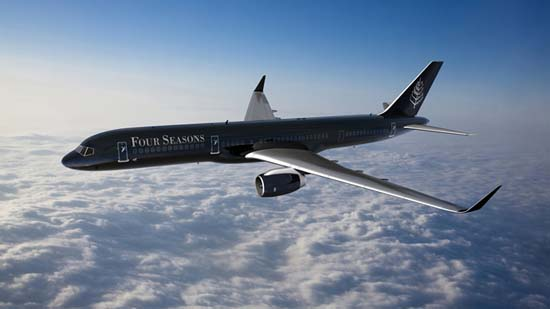 Four Seasons Introduces Private Jet Experience