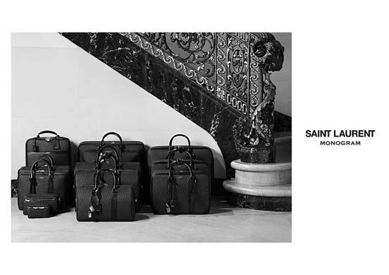 Saint Laurent Introduces Luxury Monogram Luggage Line