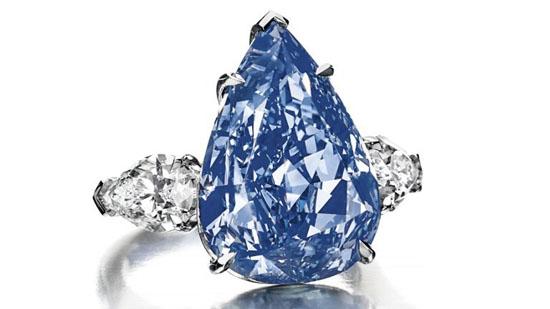 World's Biggest Blue Diamond May Fetch $25 Million