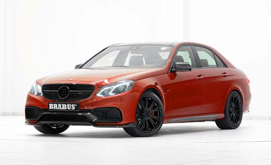 Brabus-Tuned Mercedes-Benz E63 AMG Makes 850 HP