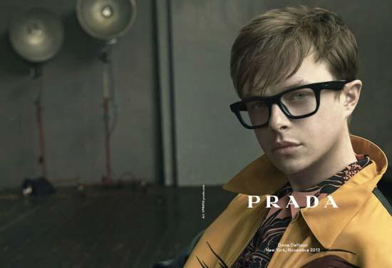 Dane DeHaan for Prada Spring/Summer 2014 Eyewear Campaign