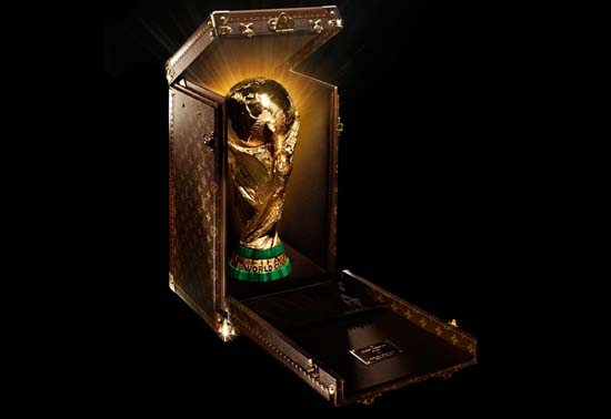 Louis Vuitton Designs Custom Trunk for World Cup Trophy 2014
