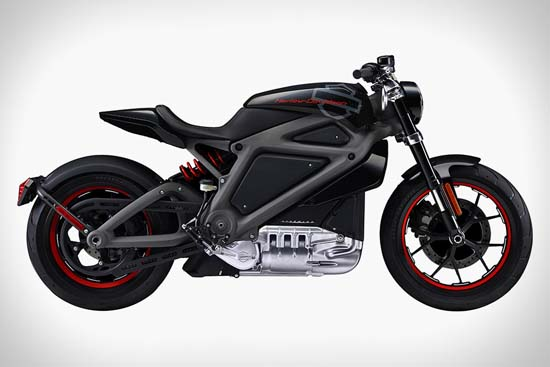 Harley-Davidson Unveils Livewire Electric Motorcycle