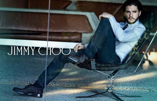 Kit Harington for Jimmy Choo 2014 Fall/Winter Campaign