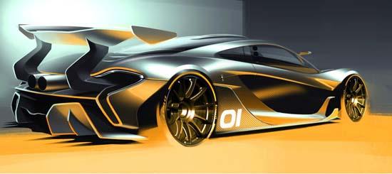 McLaren P1 GTR Concept Looks Insane!