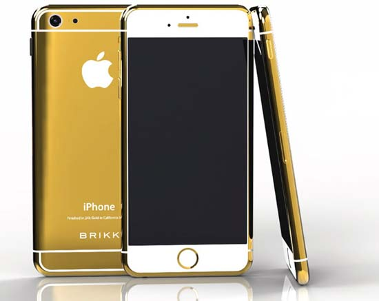 24KT Gold iPhone 6 by Brikk is up for pre-order
