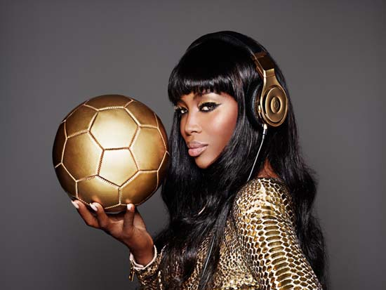 Beats by Dre x Naomi Campbell go gold for Germany's victory