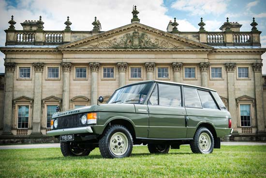 1970 Range Rover Chassis #001 Going Up For Auction