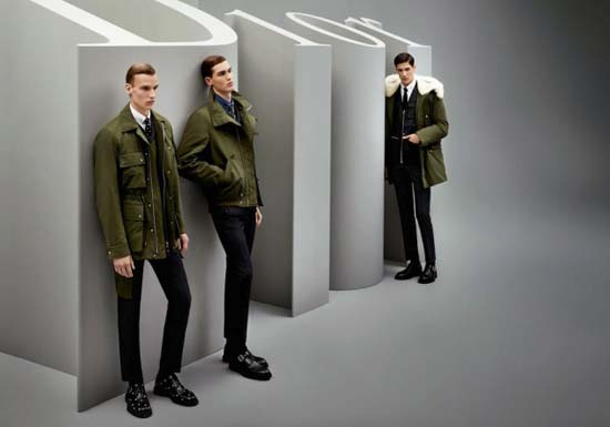 Dior Homme Fall/Winter 2014 Campaign by Karl Lagerfeld