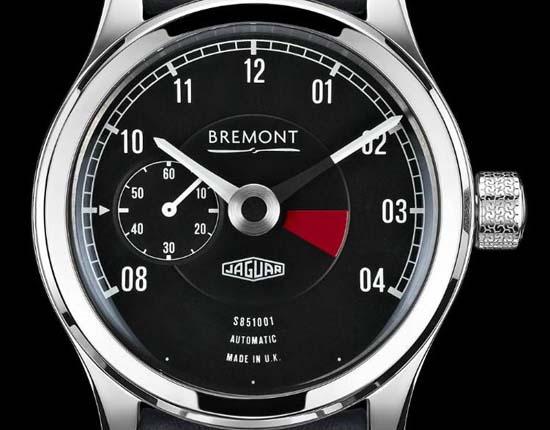 Jaguar x Bremont Lightweight E-Type Watch