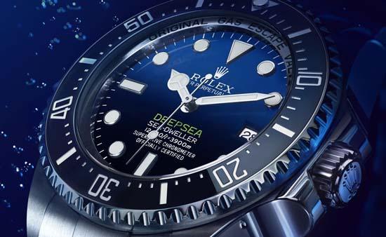 Rolex Deepsea D-Blue Dial Celebrates James Cameron's Solo Dive