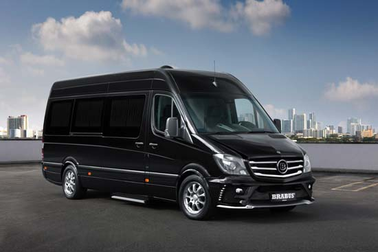 Brabus Business Lounge Concept Unveiled At Moscow Auto Show