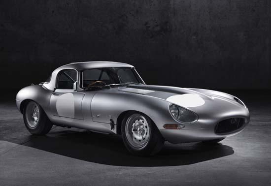 Jaguar Brings Back The Lightweight E-Type