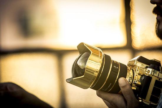 Brikk Unveils the 24K Gold Lux Nikon DF Camera