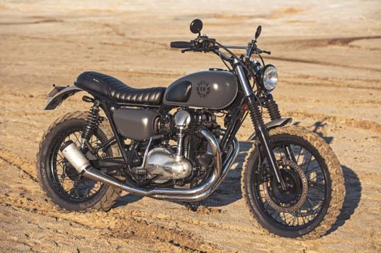 Deus Ex Machina Hunter Gatherer Motorcycle
