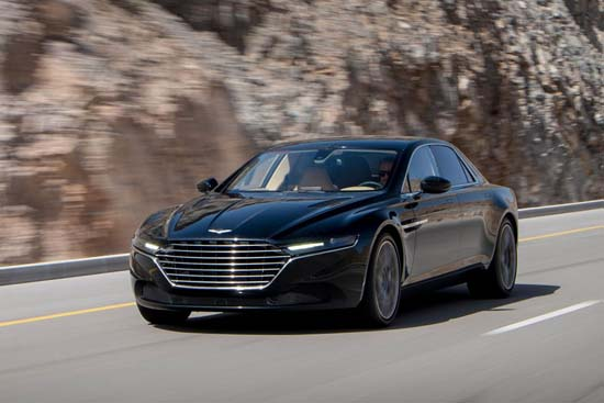 Aston Martin Lagonda Sedan Revealed