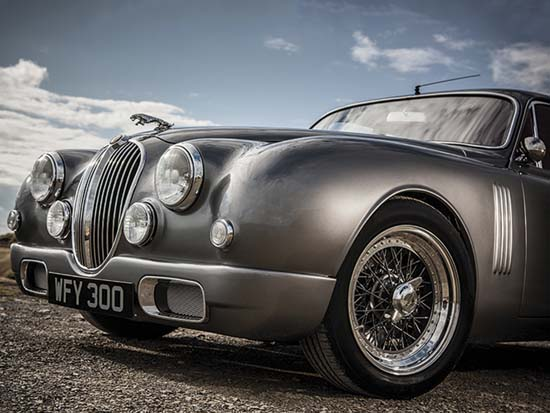 Custom Jaguar Mark 2 Reimagined by Ian Callum
