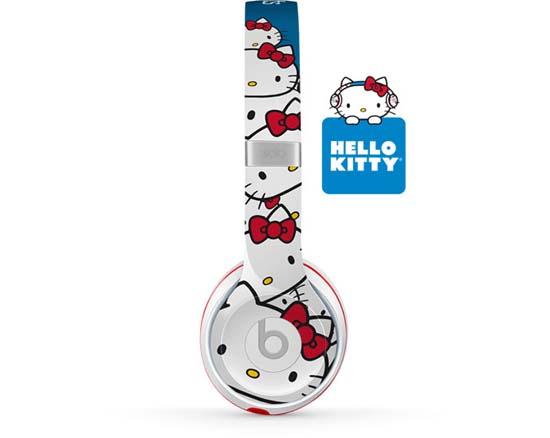 Hello kitty x beats by dr dre custom headphones luxuryes