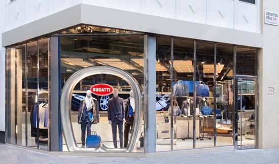 Bugatti Opens Lifestyle Boutique in London