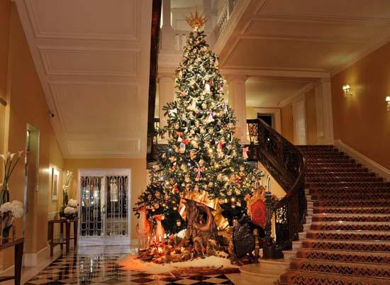 Dolce & Gabbana Design Claridge's Christmas Tree 2014